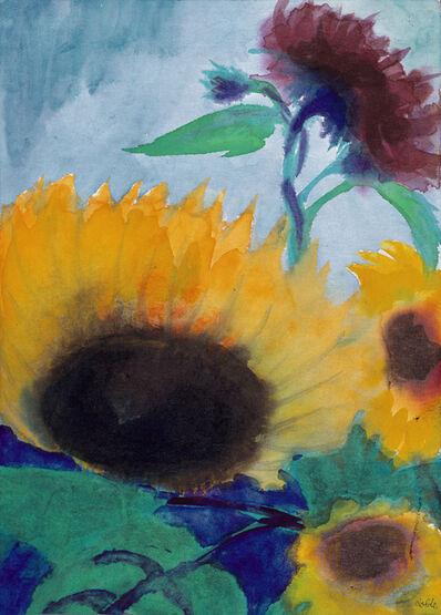 Emil Nolde, 'Sonnenblumen (Sunflowers)', 1930