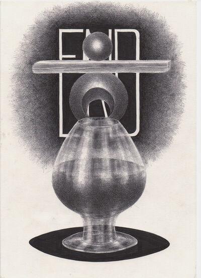 Dimitri Prigov, 'Composition with glasses,', 2002