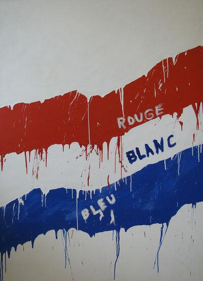 Serge Lemoyne, 'Bleu, Blanc, Rouge', 1976