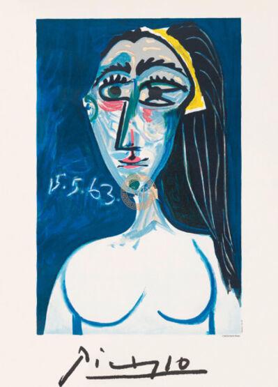 Pablo Picasso, 'Buste de Femme Nue Face', 1979-1982