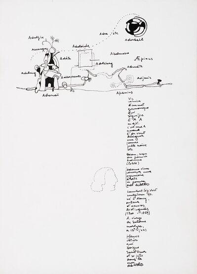 Gianfranco Baruchello, 'Lot of eight drawings', 1966
