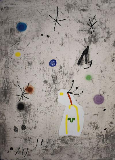 Joan Miró, 'Figure and Stars III | Personatge I Estels III', 1979