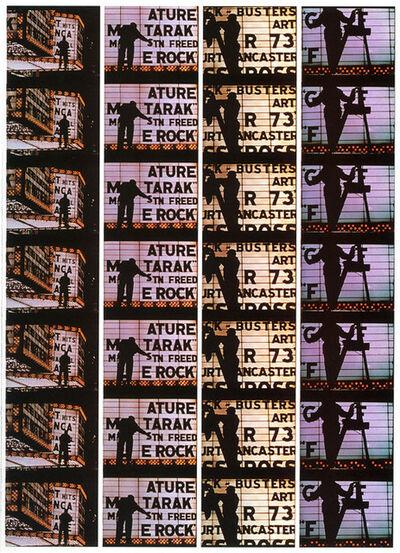 "William Klein, 'Filmstrips from ""Broadway by Light "" # 4, New York', 1958"