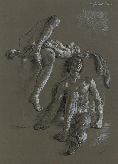 Paul Cadmus, 'Dancers Resting.', 1974