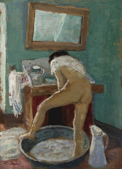 Albert André, 'Le tub', 1918