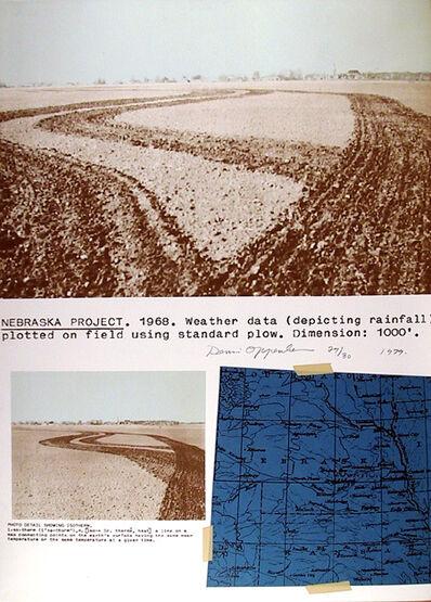 Dennis Oppenheim, 'Nebraska Project', 1979