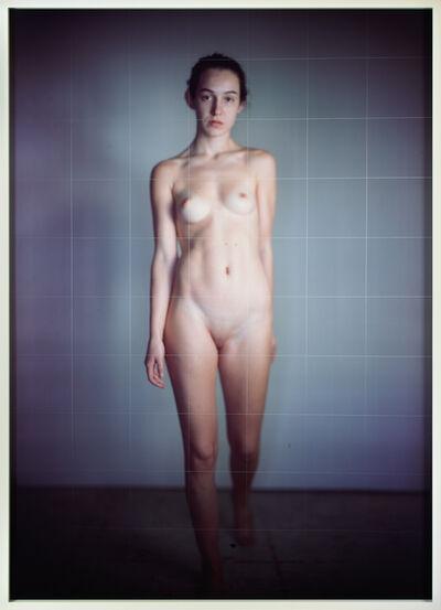 Richard Learoyd, 'Nude Model Grid', 2017