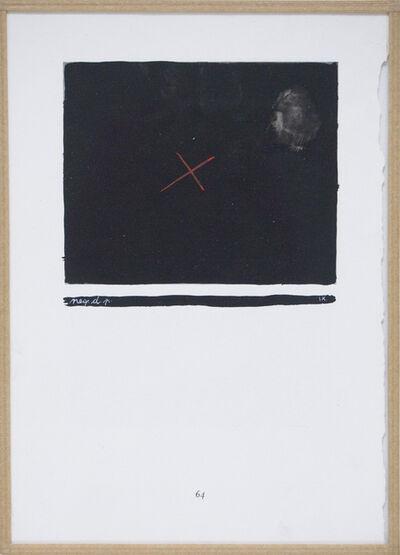 Mangelos, 'Négation de la peinture (neg.d.p. IX), m.5', 1951-1956