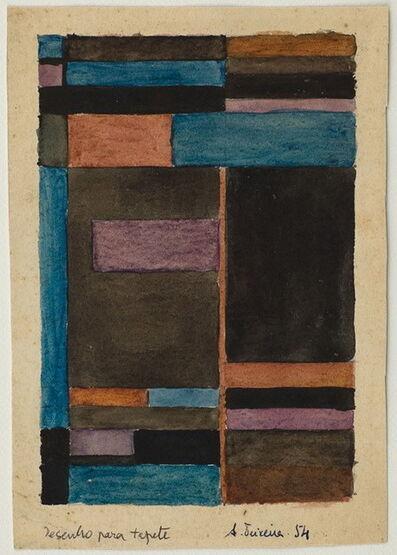 Alberto Teixeira, 'Desenho para Tapete', 1954