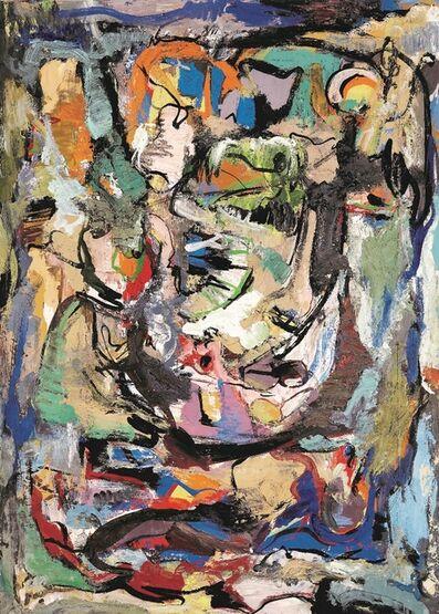 Boris Chetkov, 'Portrait', 1988