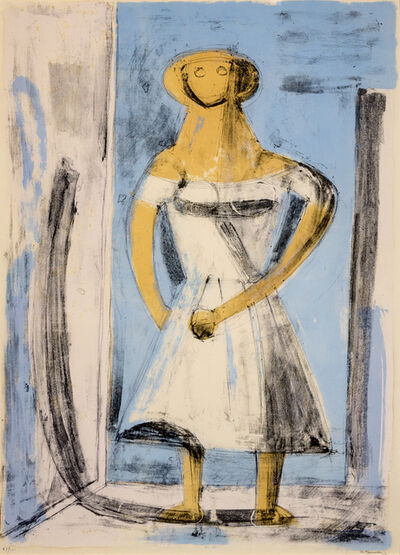 Rufino Tamayo, 'Woman in White', 1960