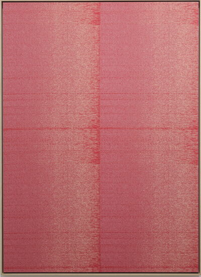 Mika Tajima, 'Negative Entropy (New York University Central Data Center, Pink, quad)', 2015