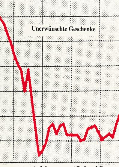 Sigmar Polke, 'Unerwünschte Geschenke', 2003