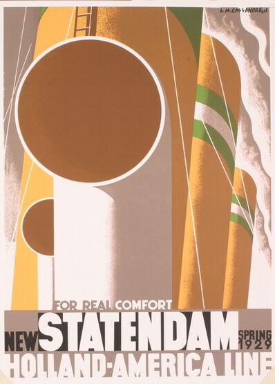 A.M. Cassandre, 'Statendam', 1995