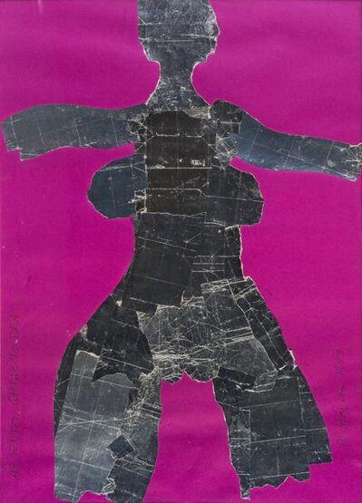 Al Hansen, 'Argento Ghiaccio Dea', 1993