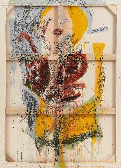 Nate Lowman, 'Reverse Marilyn', 2012