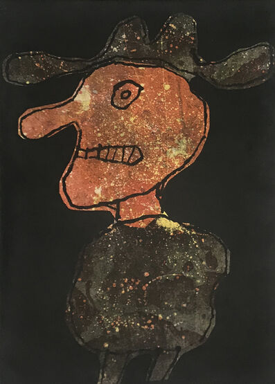 Jean Dubuffet, ' Person in a Hat | Personnage au chapeau', 1962