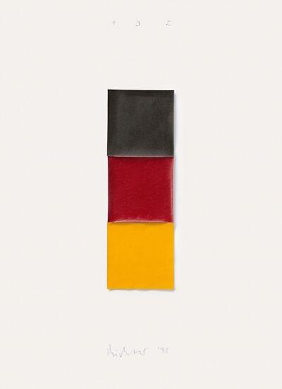 Gerhard Richter, 'Schwarz, Rot, Gold I (Butin 107)', 1998