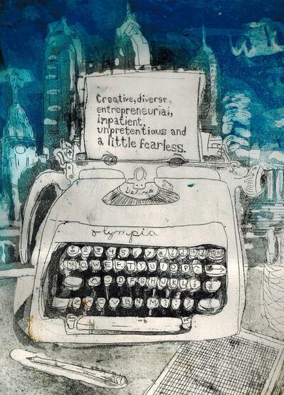 Sam Messer, 'Philly Typewriter', 2018