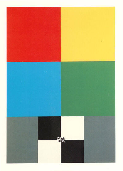 Peter Blake, 'Q is for Quarters', 1991