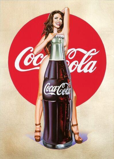 Mel Ramos, 'Lola Cola #5 Gold', 2018