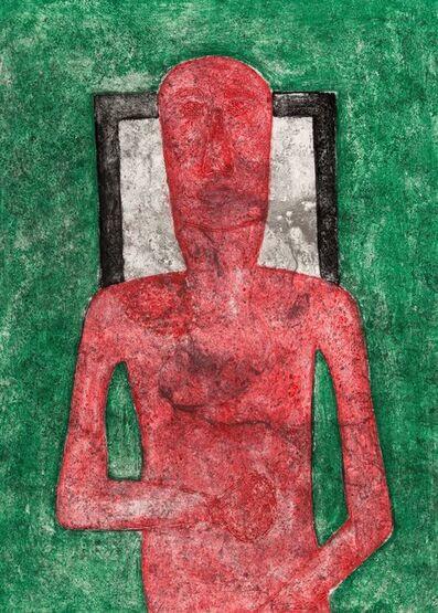 Rufino Tamayo, 'Hombre Rojo', 1976
