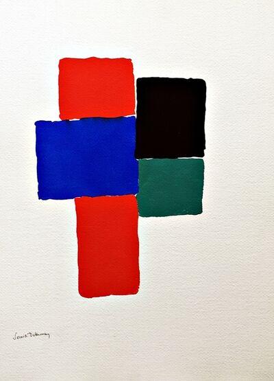 Sonia Delaunay, 'Geometric Abstraction (Estate of Elaine Lustig Cohen)', 1973