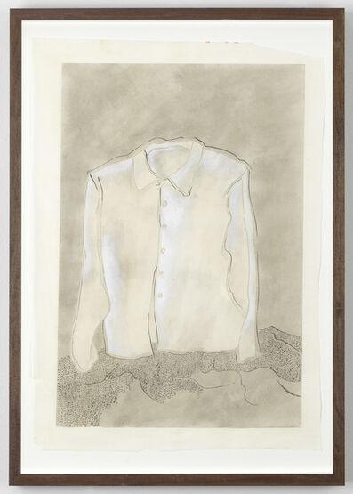 Evelyn Taocheng Wang, 'White Shirt and Hills', 2017