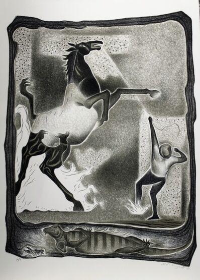 Shinzaburo Takeda, 'Caballo Bronco', 1992