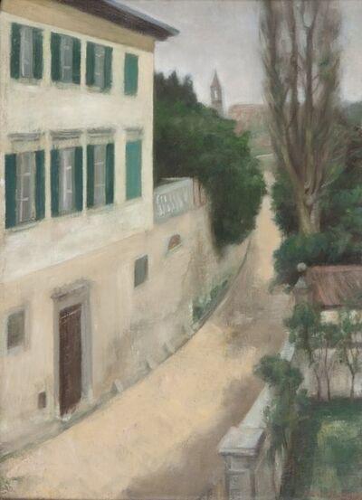 Xavier Bueno, 'Veduta da Villa Il Pozzo', 1942