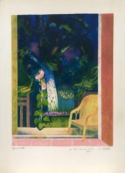 Paul Collomb, 'Open doorway to garden', ca. 1968