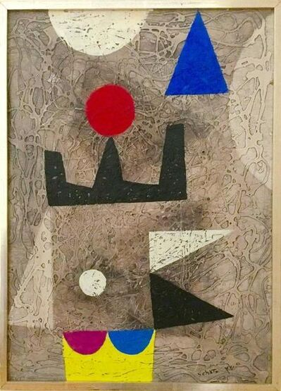 Bezalel Schatz, 'Jerusalem', 20th Century