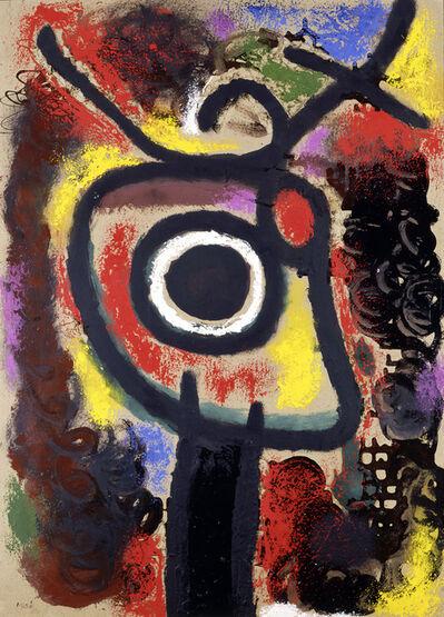 Joan Miró, 'Personnage et oiseau', 1963