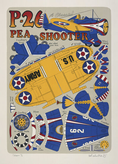 Malcolm Morley, 'P-26 Pea Shooter', 2001