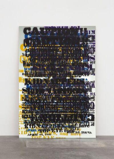 Sam Durant, 'Eighteen Fifty-One to Twenty Sixteen', 2016