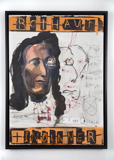 Brad Kahlhamer, 'Rothaut Indianer', 2014