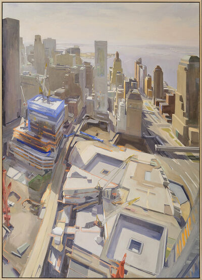 Diana Horowitz, 'World Trade Center Reflecting Pools and Harbor #2', 2011