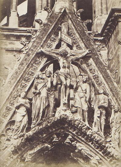 Jean-Louis-Henri Le Secq, 'Rheims, Cathédrale Notre-Dame', 1852/1852c