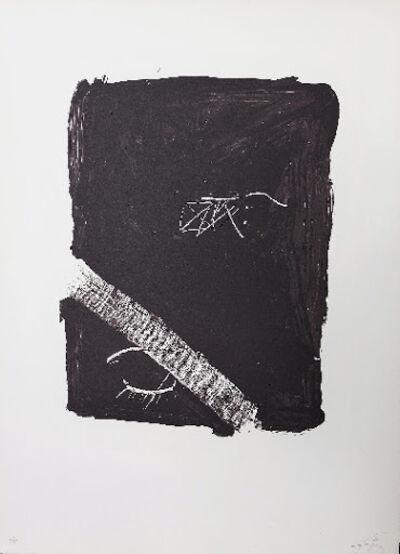 Antoni Tàpies, 'LLambrec 5', 1975