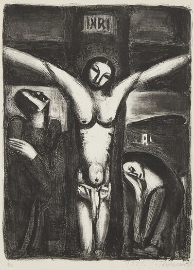 Georges Rouault, 'Le Christ en criox', 1929