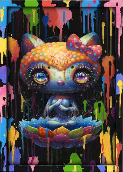 Yoko d'Holbachie, 'Splatter Kitty', 2019