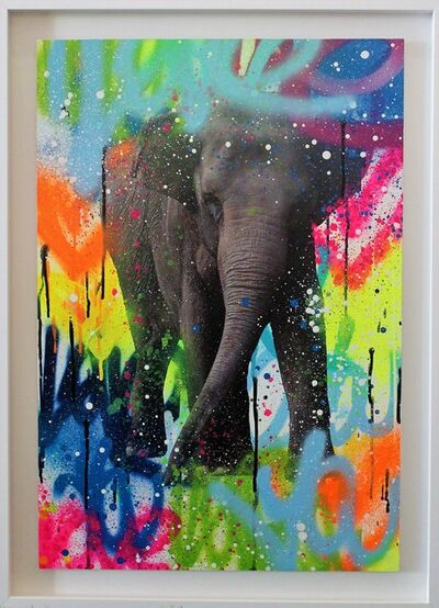 Amber Goldhammer, 'Colorphant', 2018