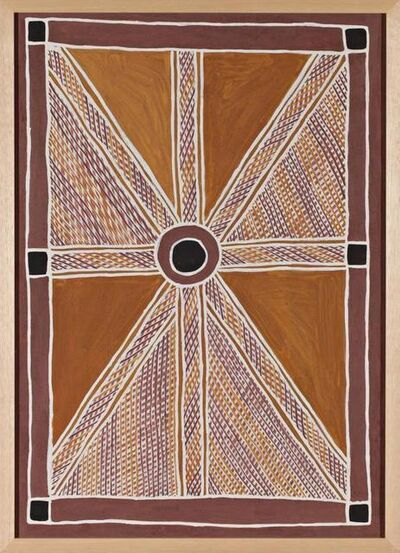 Anita Ganbuganbu, 'Aboriginal Art Painting by Anita Ganbuganbu', 2010