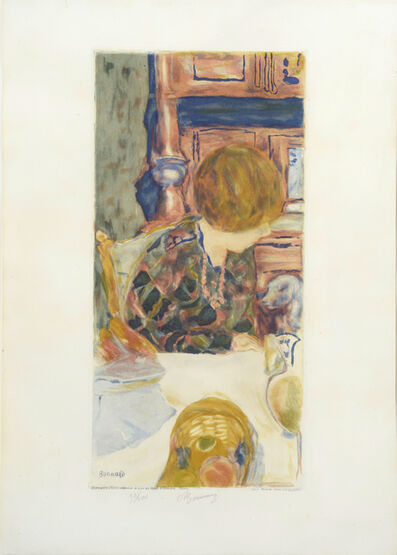 Pierre Bonnard, 'La Femme au Chien. Woman with a Dog', 1924