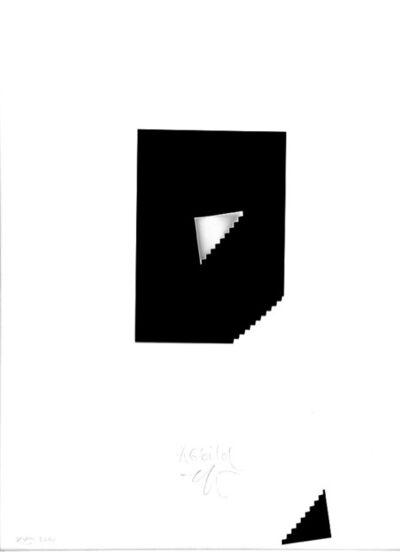 Gottfried Jäger, 'Depict, Photo Paper Work XVIII', 2000