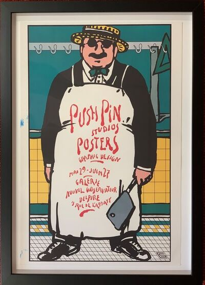 Seymour Chwast, 'Push Pin Studios Posters', 1987