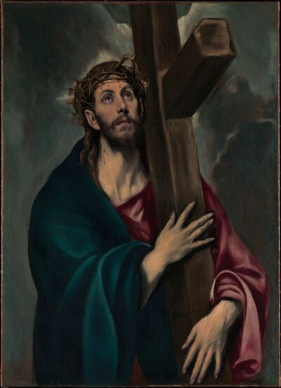 El Greco, 'Christ Carrying the Cross', ca. 1577–1587