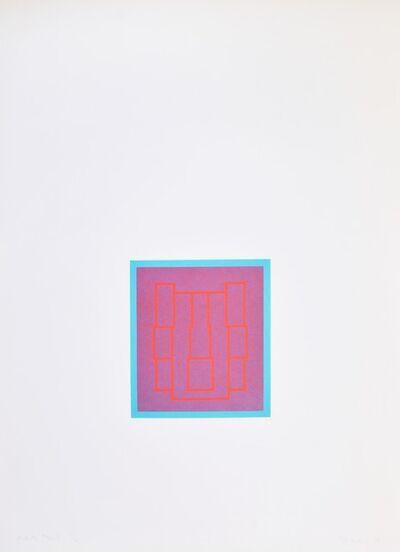 Robyn Denny, 'Portraits (Series B), III', 1970