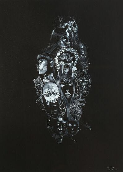 David Choe, 'Heads', 2008