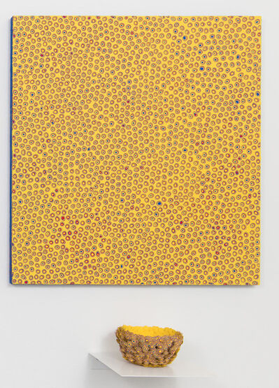 Atsuo Suzuki, 'Carved painting *set with sculpture', 2018